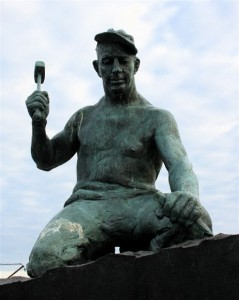 The stonemason is a revered folk hero in Stonington, Maine.