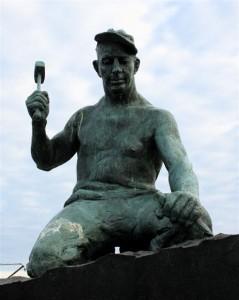 The stonemason is a revered folk hero in Stonington, Maine.
